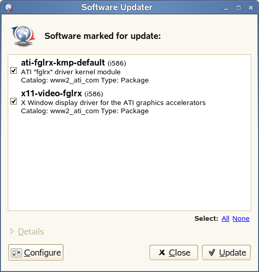The Software Updater